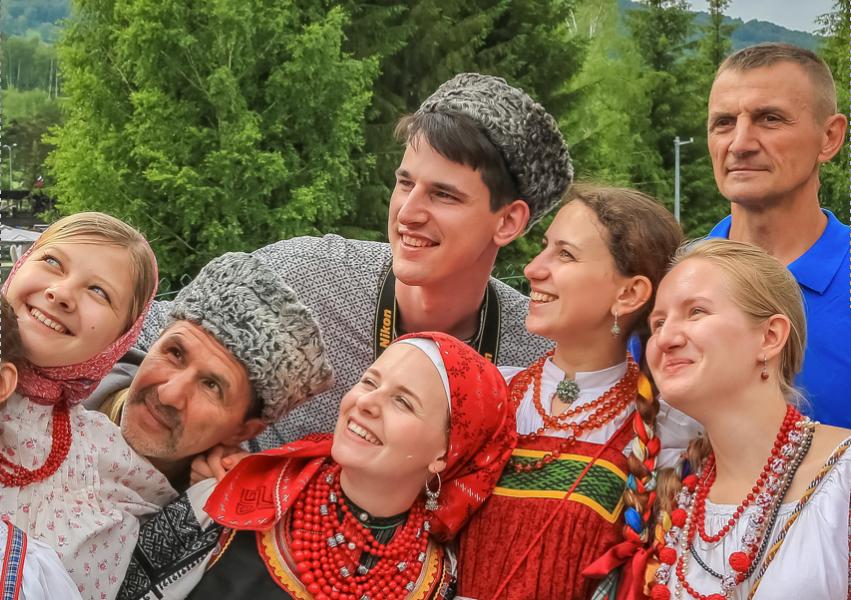 День России, традиции и фольклор. 2018